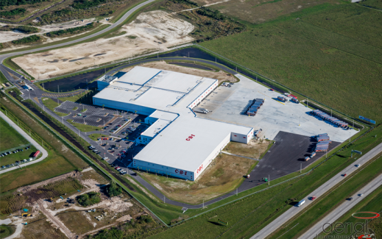 Cheney Brothers Food Distribution Warehouse -  A 529,000 square foot regional food distribution warehouse on Cheney Way in Punta Gorda, Florida.