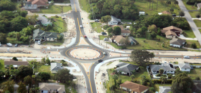 SED Transportation Services Eddgewater Drive Roundabout