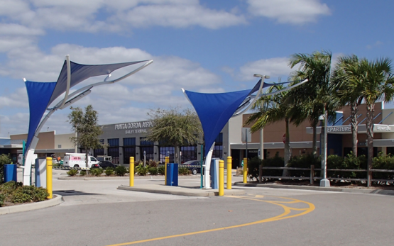 SED Transportation Services Punta Gorda Airport Entrance Road